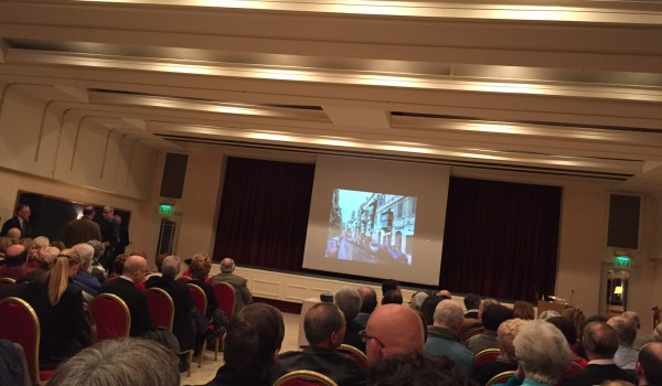 Talk on the origins and evolution of Maltese Balconies by Adrian Strickland gathered more than 400 attendants
